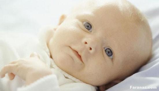 سر جنین و نوزاد در چند ماهگی شکل میگیرد و رشد می کند