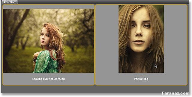آموزش گام به گام قرار دادن دو عکس یا تصویر کنار هم در فتوشاپ